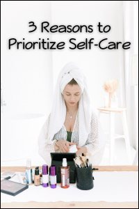 prioritize self-care