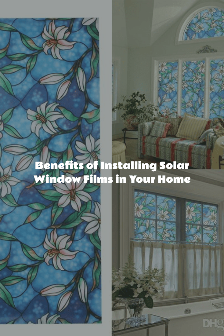 solar window films in home