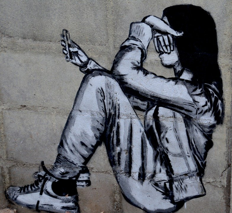 Student, Smartphone, Bullying, Girl, Phone, Young