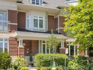 townhome, port credit, ontario