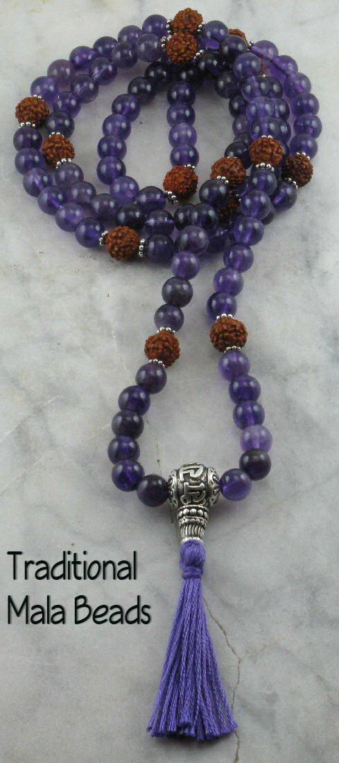 mala beads, stress