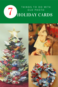 7 things to do with old photo holiday cards