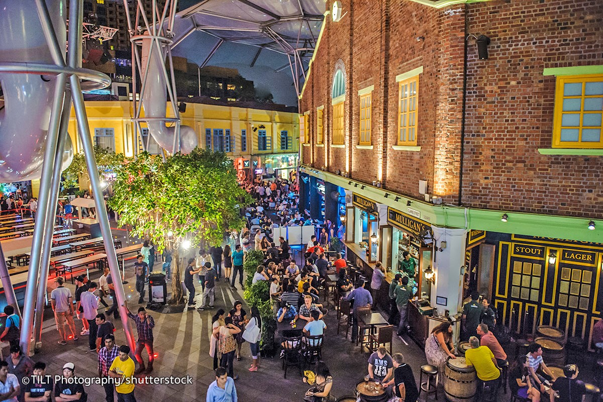 Clarke Quay Nightlife Scene