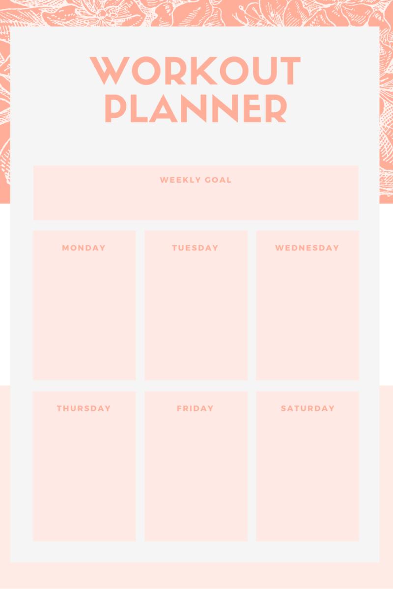 block workout planner