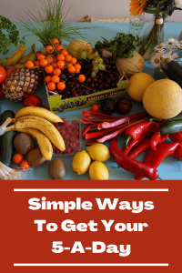 simple ways to get your 5-a-day