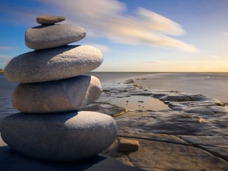 stack of stones outdoors