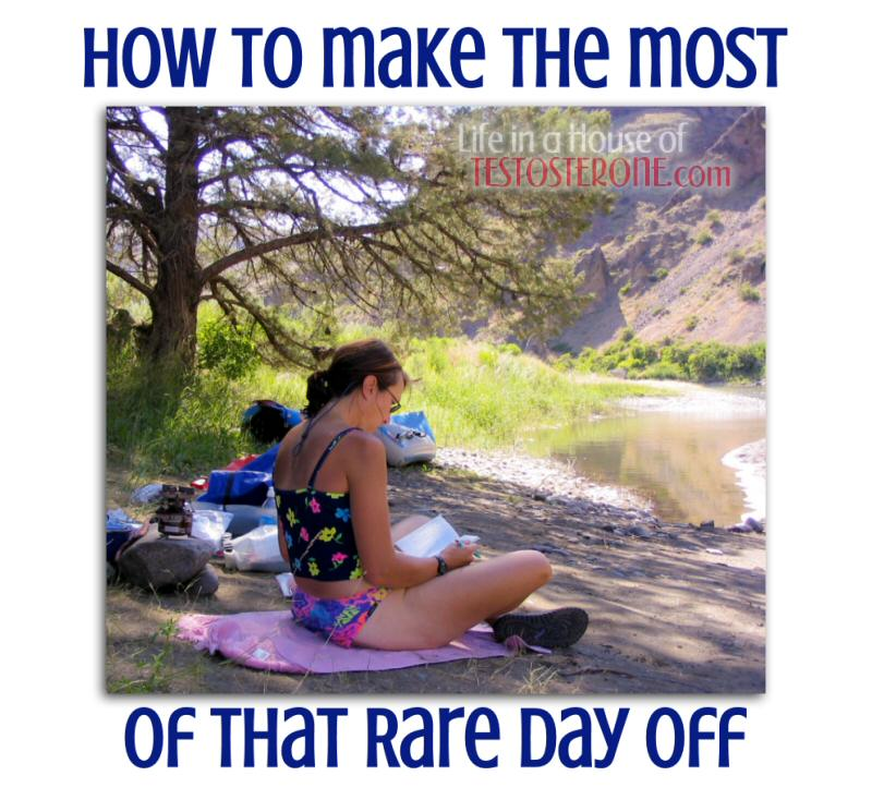 How to Make the Most of That Rare Day Off