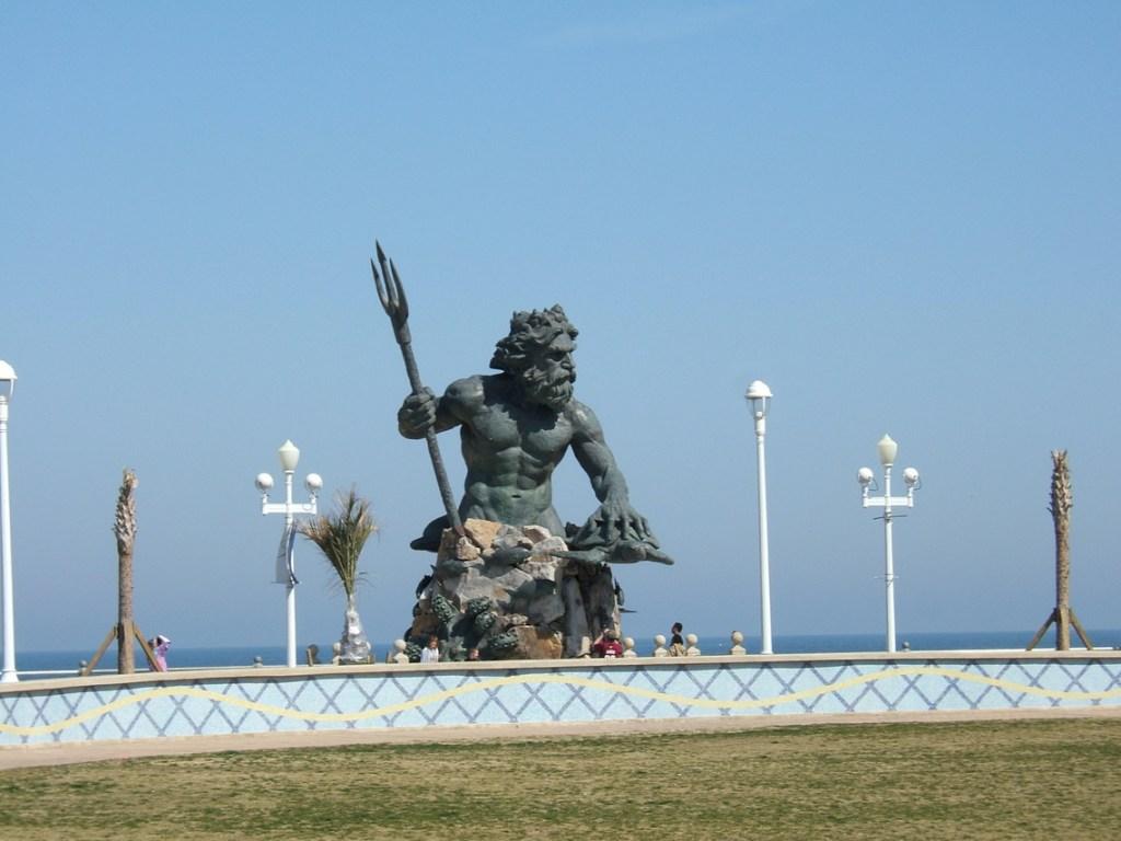 King Neptune Statue at Virginia Beach, VA