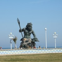 King Neptune Statue at Virginia Beach, VA