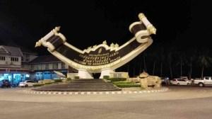 Welcome to bang Saen Sign