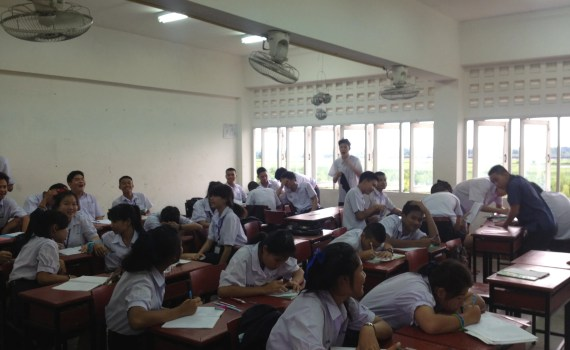 Students in Thai High School