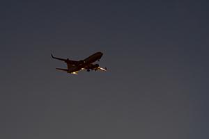 plane soaring