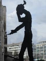 Statue at Aeschenplatz