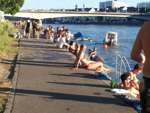 Summer at the Rhine