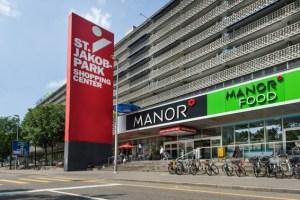 photo of St Jakob mall in Basel, Switzerland