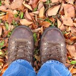 Hiking boots in Basel