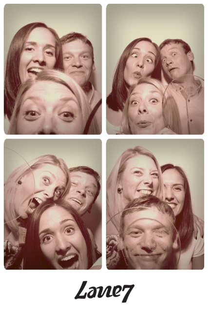 Photobooth fun (and we weren't even drunk!)