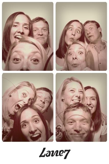 Photobooth fun (and we weren't even drunk!)