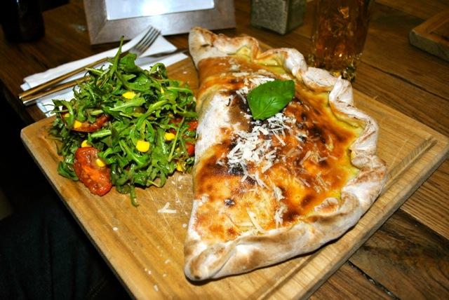 herb garden pizza