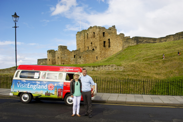 Happy days with Rosie the campervan!