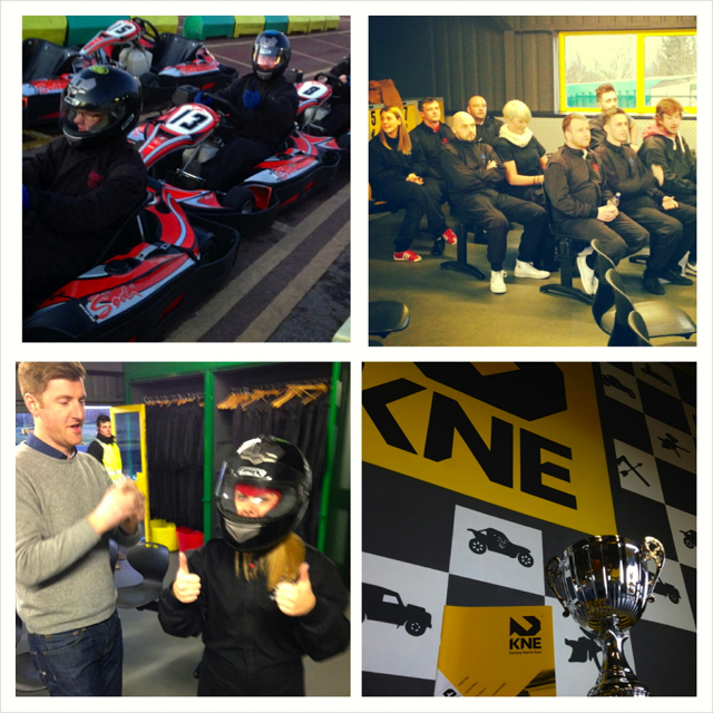 karting collage