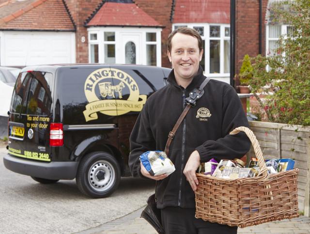 Ringtons doorstep delivery service
