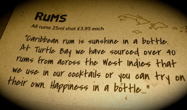 turtle bay rum