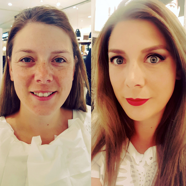 lancome make up transformation