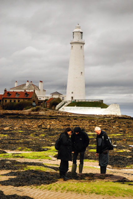 St Mary's Lighthouse, credit NGI