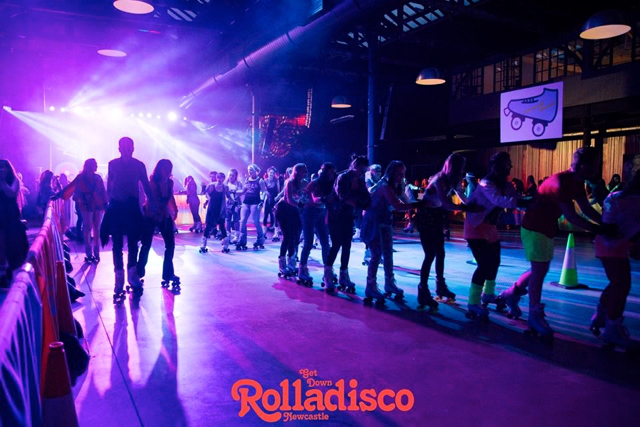 life in geordieland blogger roller disco