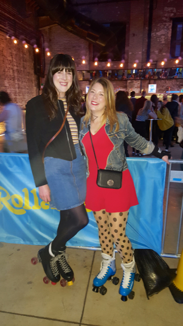 Boiler Shop Events Blogger Roller Skates