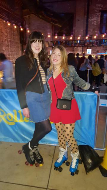 Boiler Shop Events Blogger Roller Skates