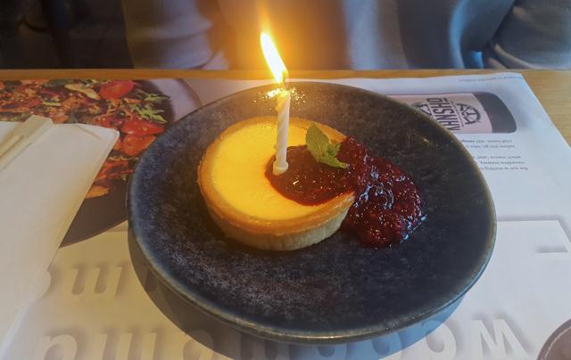 birthday meal newcastle