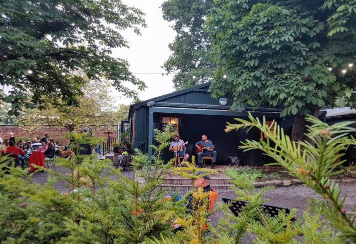 Gibside Beer Garden