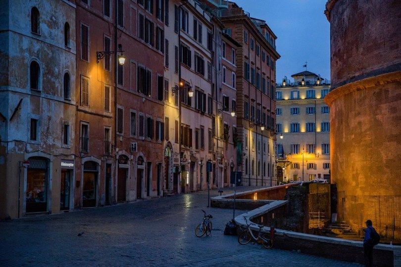 romantic italy rome