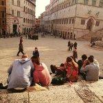 Piazza IV novembre in Perugia