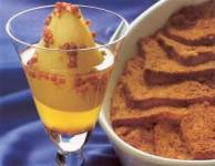 Venetian Cornmeal Brioche Bread Pudding
