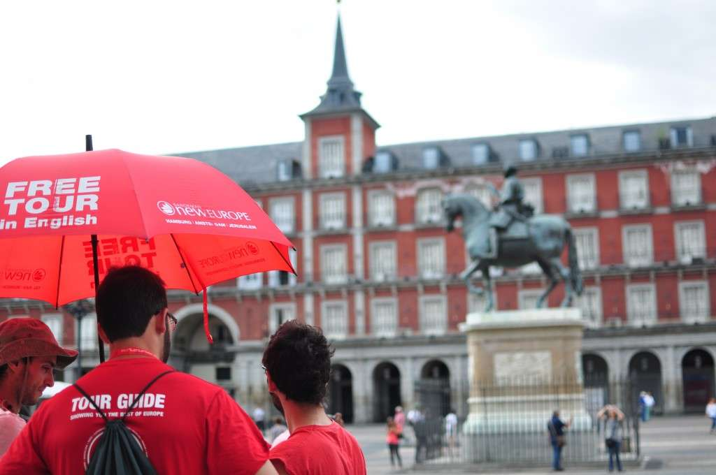 Just look for the red umbrella!