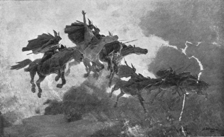 The Ride of the Valkyrs (1909)