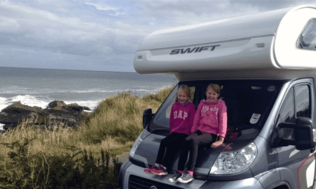 Dipping our toes in the water……our family motorhome road trip across Europe begins!