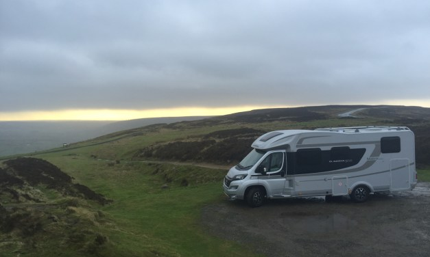 Breakfasting in the North Yorkshire Moors enroute to Rutland