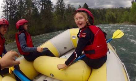 White Water Rafting down the River Sava at Lake Bled with Life Adventures!