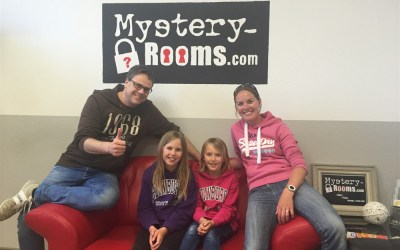 From Edelweiss to Bayern Munich in one day… and a family experience at Mystery Rooms Escape Room!!