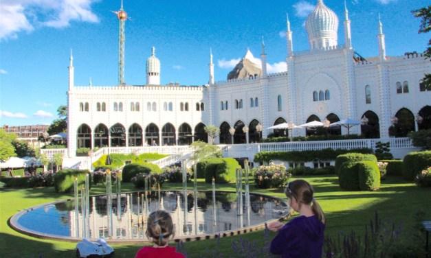 Family Adventures at Tivoli Gardens, Copenhagen