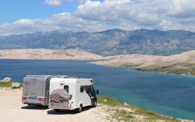 Motorhoming in Croatia | Heading South from Camping Šimuni to Zaton Holiday Resort