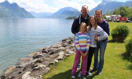 Chocolates, Lakes, Castles, Scenic Drives & Stunning Views! Must mean we're in Switzerland!