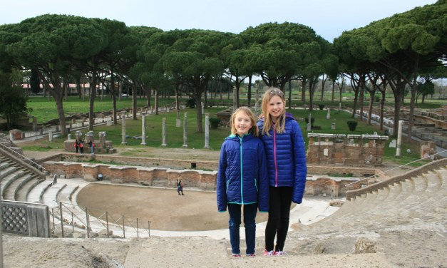 Ancient Ruins in Rome…..