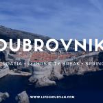 LifeinourVan City Reviews | Dubrovnik | Croatia