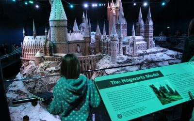 Where better to inspire Creative Writing than to see the Harry Potter Tour in London