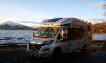 LifeinourVan find a winter wonderland at Loch Lomond – a real snowy gem!!!